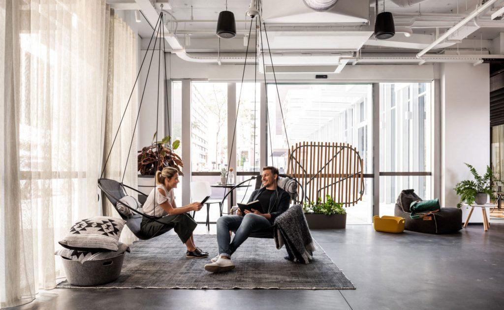 HR Trends in 2019 employees in open space office